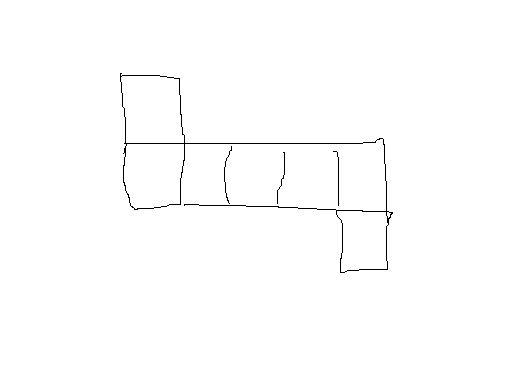 7个小正方形拼成的图形分成4个全等的图形图片