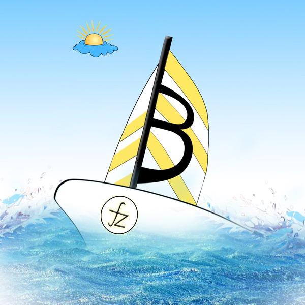 帆船班徽的设计理念