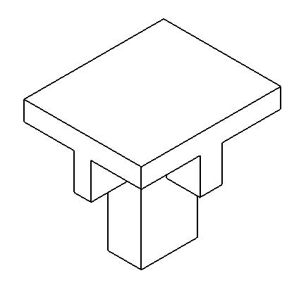 有三视图求立体图