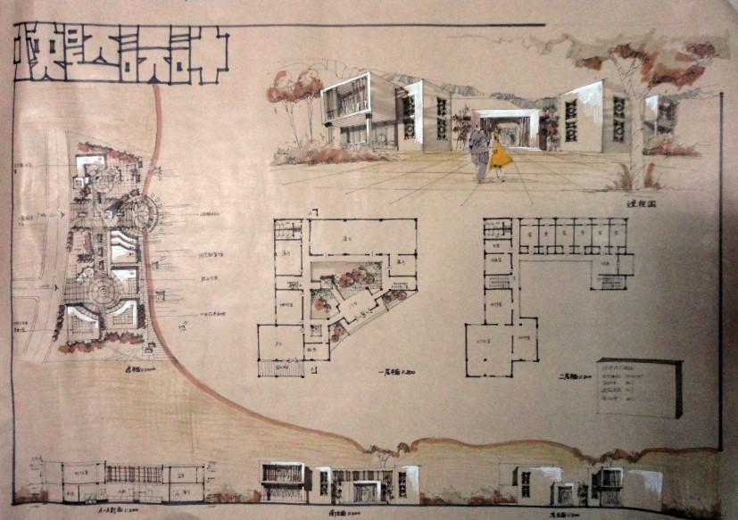 我就读在东南大学,暑假是在西安大禹学习的手绘,如果你是建筑学的