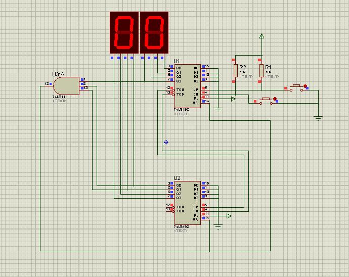 如何用两个74ls192构成38进制计数器