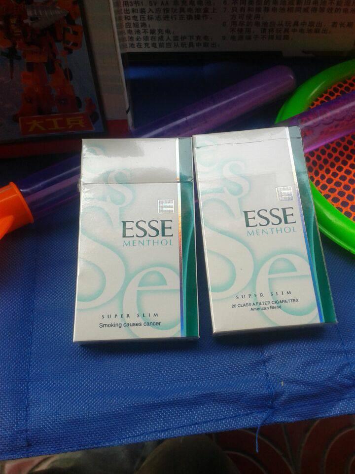esse香烟_esse香烟多少钱一包?