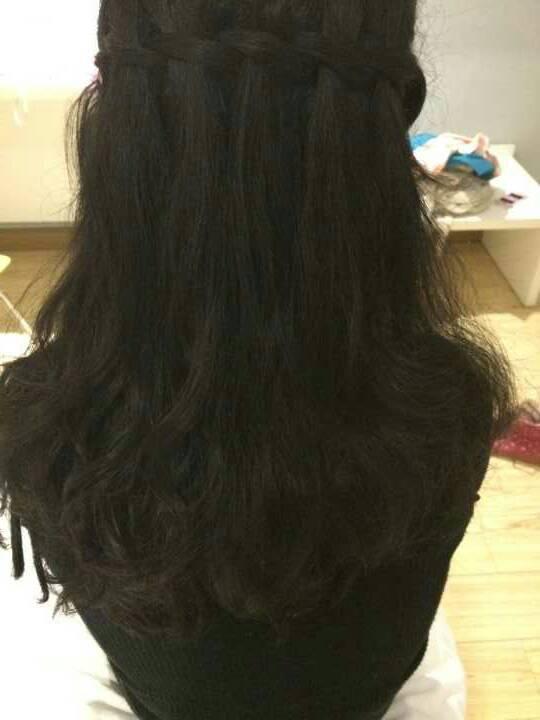 这种头发编法叫什么