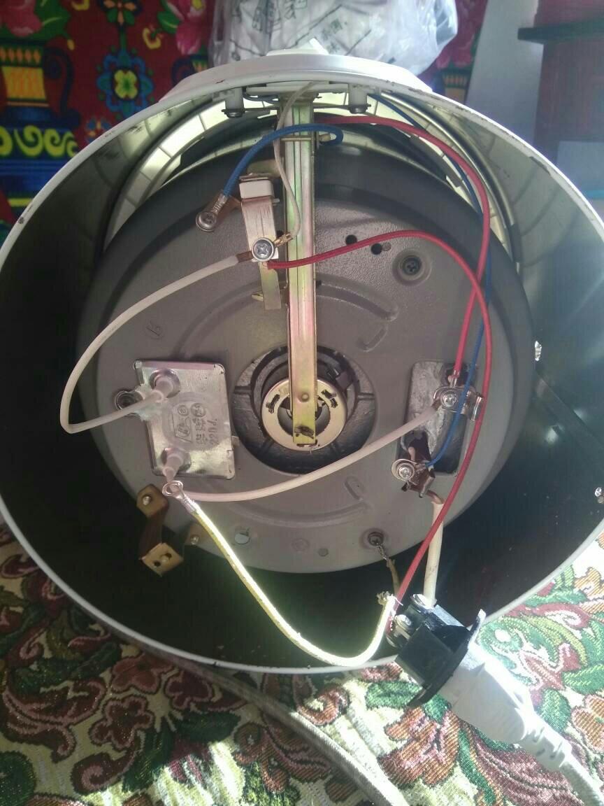 半球牌保温式自动电饭锅接线怎么接?