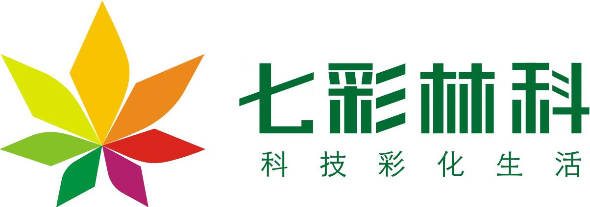 我想知道这个logo的字体分别是什么字体(七彩林科是什么字体,科技彩化图片