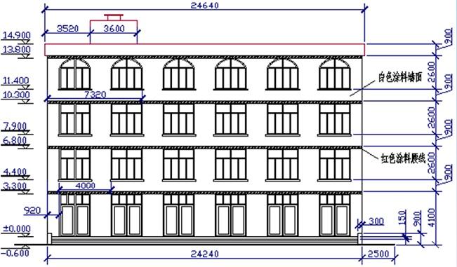 cad中 建筑立面图的绘图步骤是?