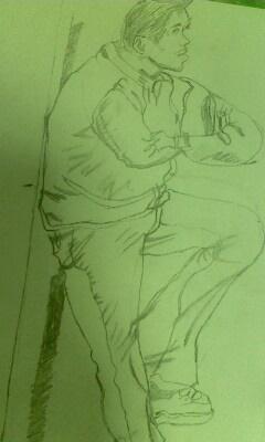求动漫人物手绘图,难度中等偏上的,画在4k纸上的.感激