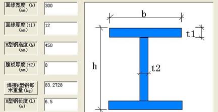 钢结构图纸中标注的钢柱:h600*250*8*10是什么意思?