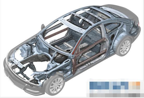 汽车总体结构分析