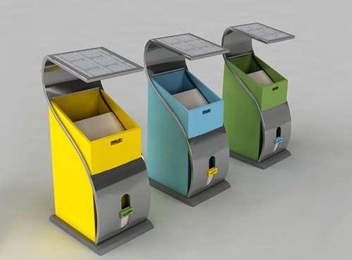 怎么设计创意垃圾桶,避免垃圾扔到外面,要有新意!图片