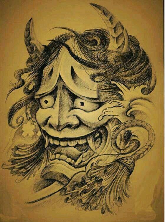 求图片:般若鬼头手绘图