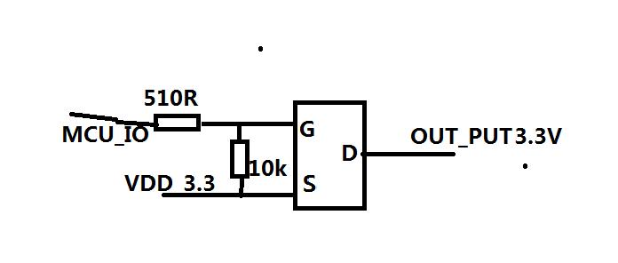 如何使用其他的开关电路控制大电流(500ma左右)的电源呢?