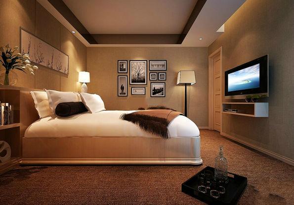 并且灯光的设计可以使得房间不那么沉闷.图片