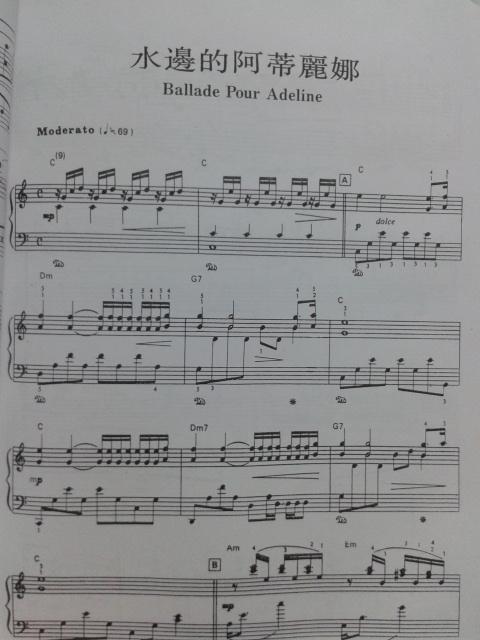 钢琴谱子怎么看?