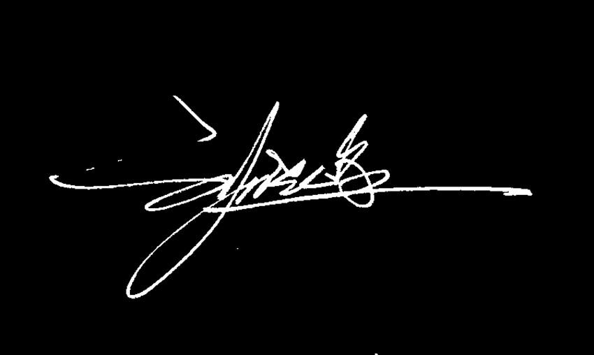 藝術簽名設計劉曉峰圖片