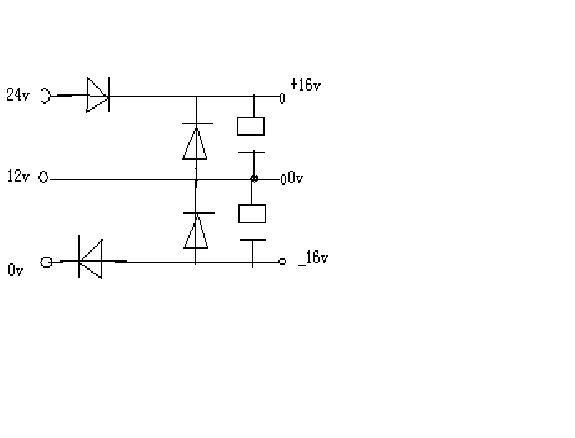 12v直流电转双12v交流电?此电路图可行吗?
