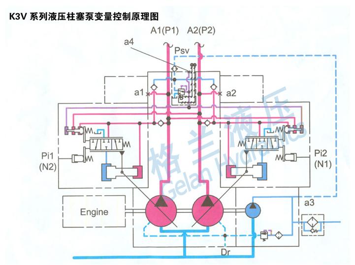 压滤机液压油泵结构图