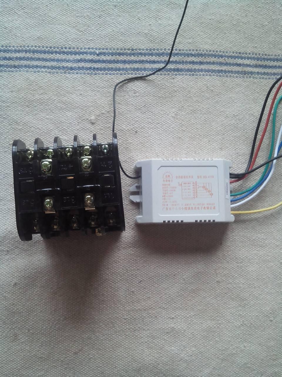 进线220v出线220v三叶轮水泵如何接线?