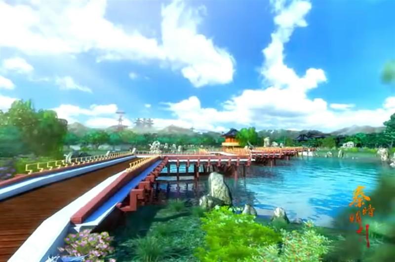 秦时明月之小圣贤庄里面风景和房子图片