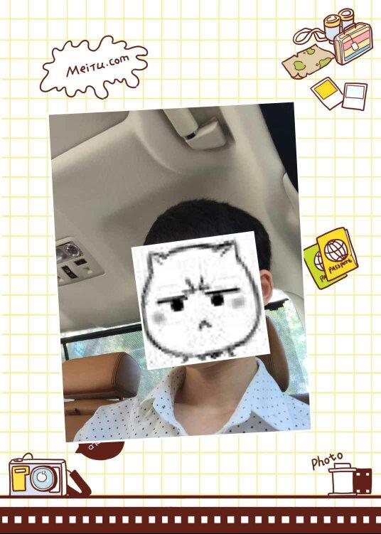 younvshoujiao_这图片脸被贴纸挡了,请问大神怎么去掉贴纸,求帮啊啊啊