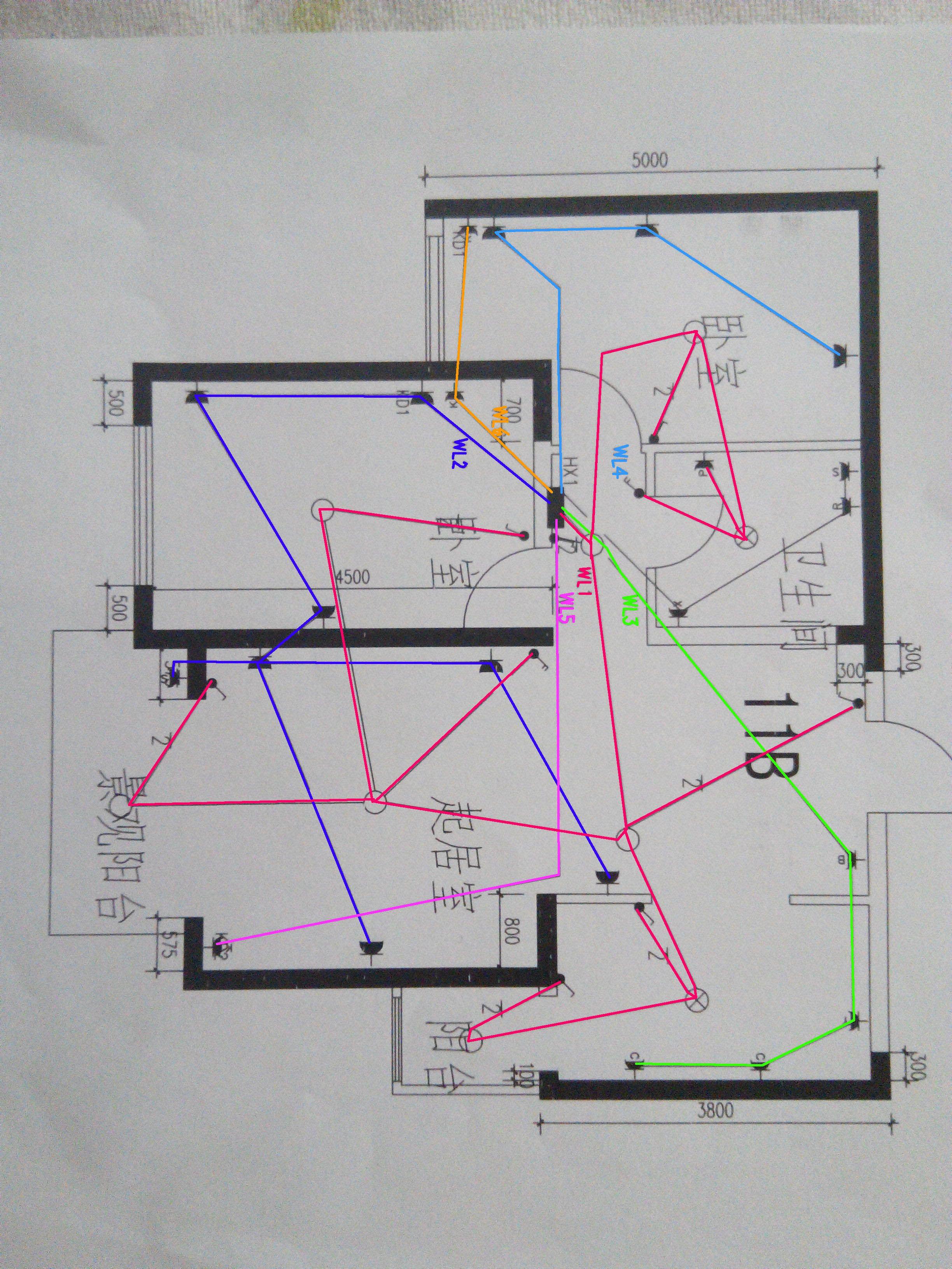 开发商给的电路图看不懂