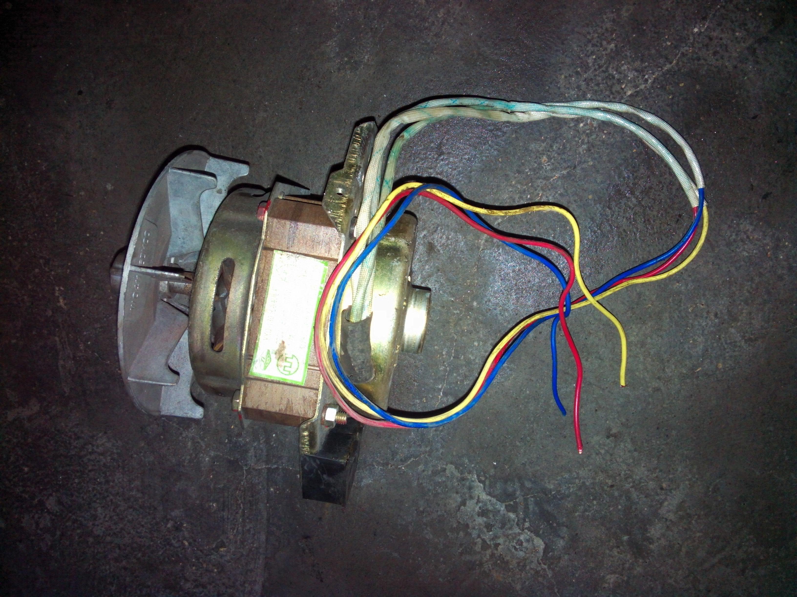 從洗衣機拆下來的電機電容怎么樣直接接通電源轉動