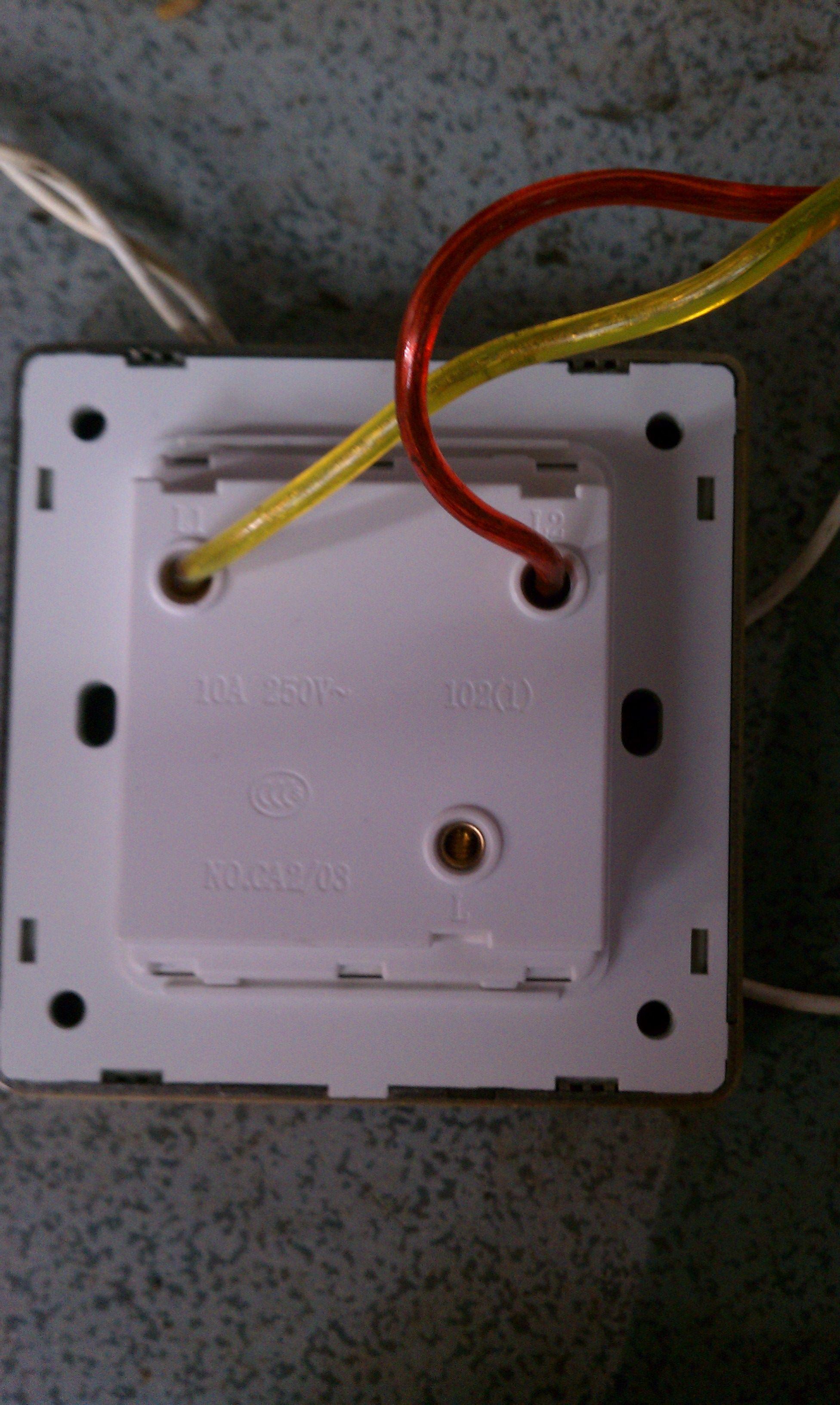 双控单开接线图双控单开接线图 三根线 二个灯.怎么接