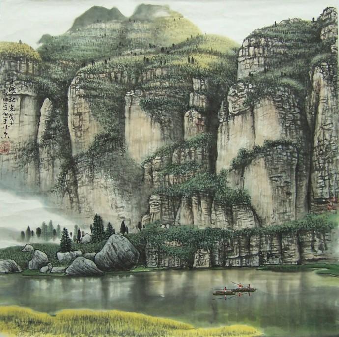 谁画中国山水画最好_百度知道图片