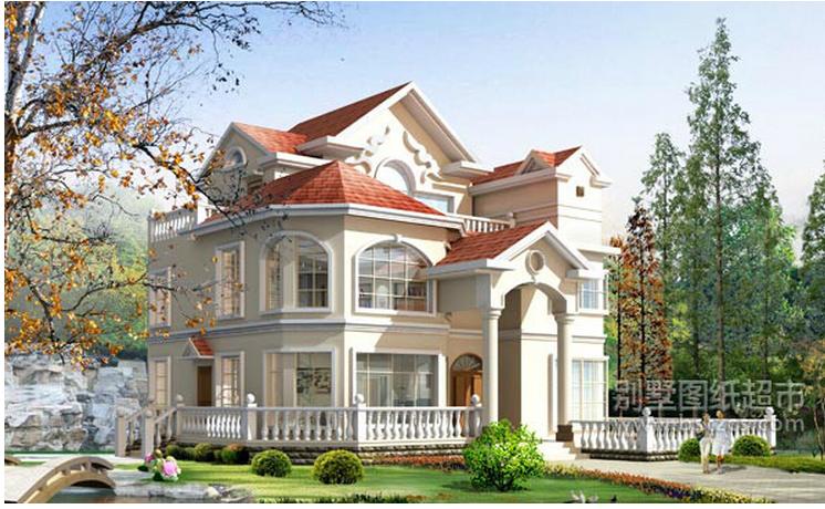 哪里的别墅图纸设计的最漂亮?