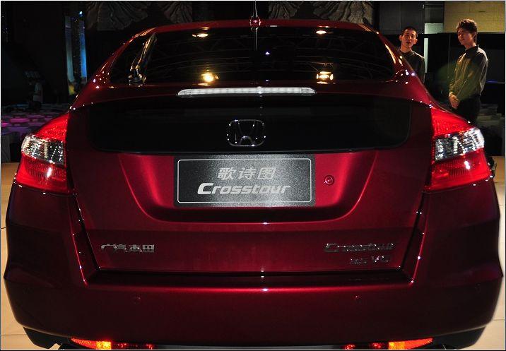 广州本田有款两厢车求名字.