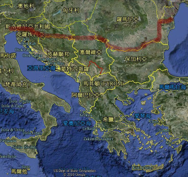 巴尔干半岛的介绍图片