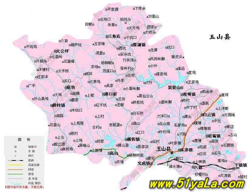 江西省手绘地图