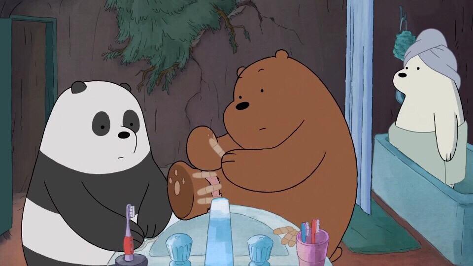 求大神 这是什么动画片 主角是三只熊 白熊棕熊和熊猫