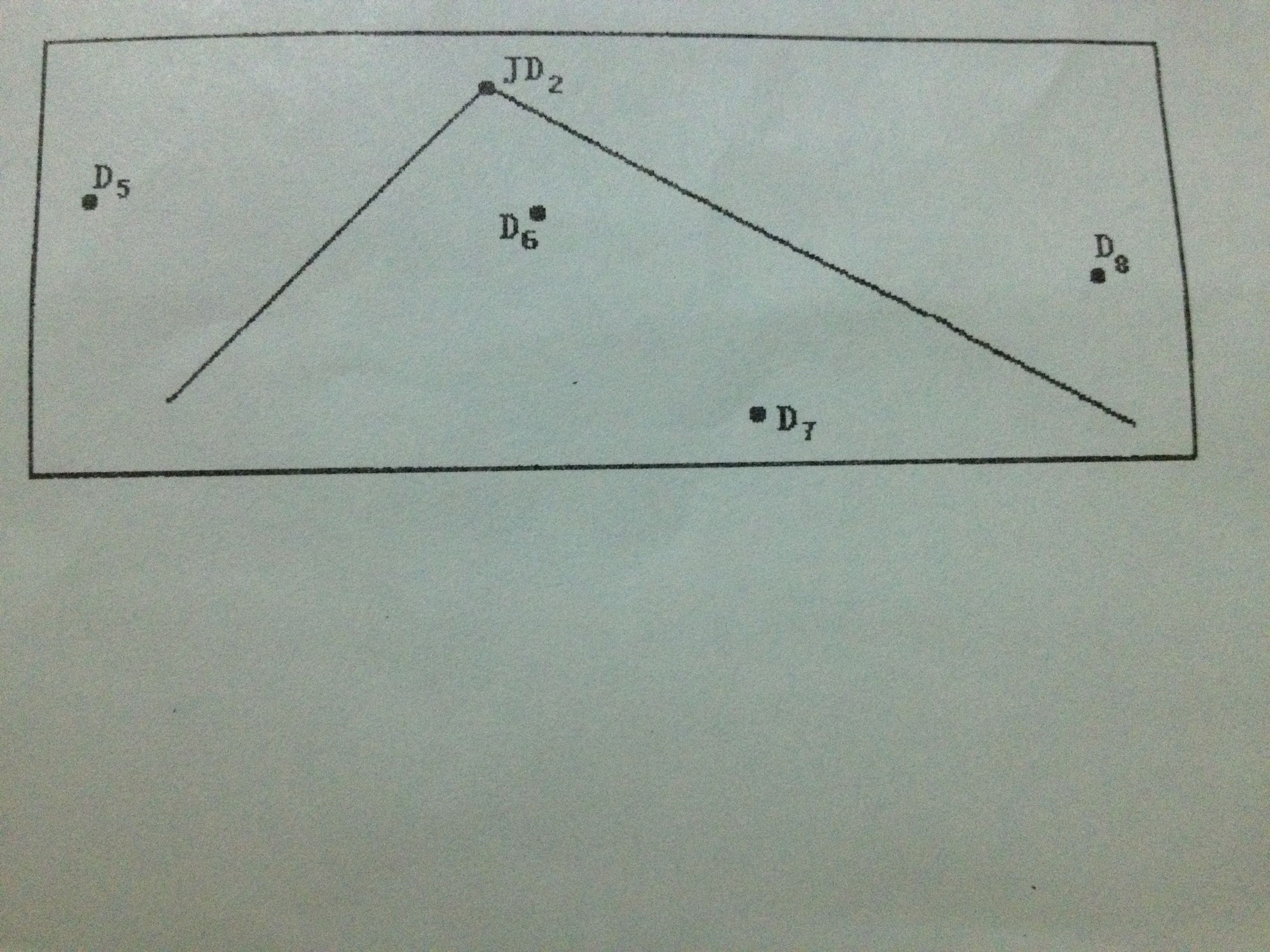 急啊!简述用放点穿线法现场放样jd2的步骤,祥请看下~~图 ~~~~有图~!