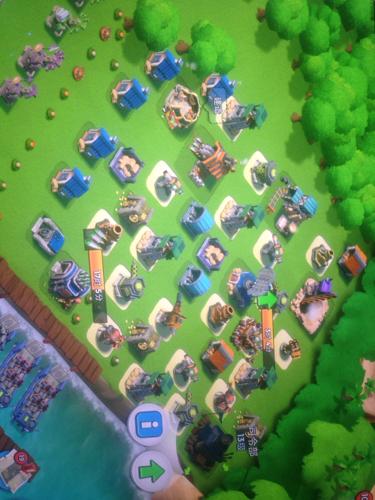 海岛奇兵13本防御阵型,我都是瞎摆的这几天老是被灭,求清楚一点的防御