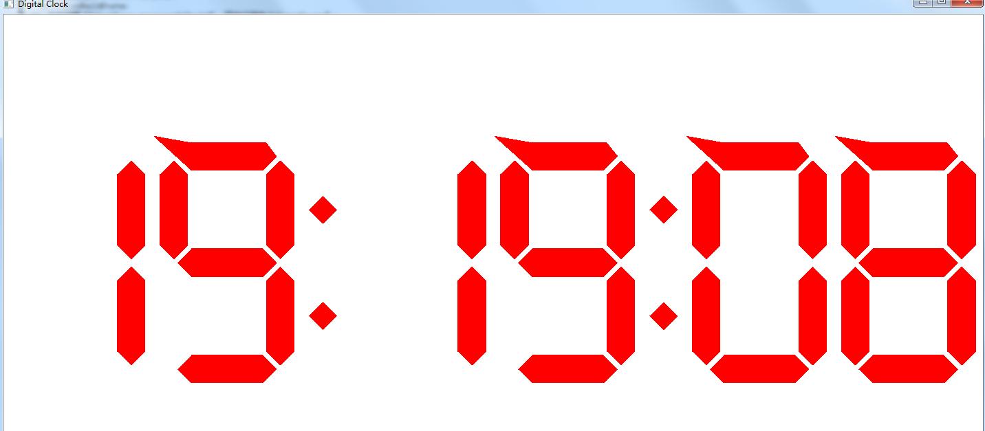 (1)用数字逻辑集成块实现;(2)时间以24小时为一个周期,显示.