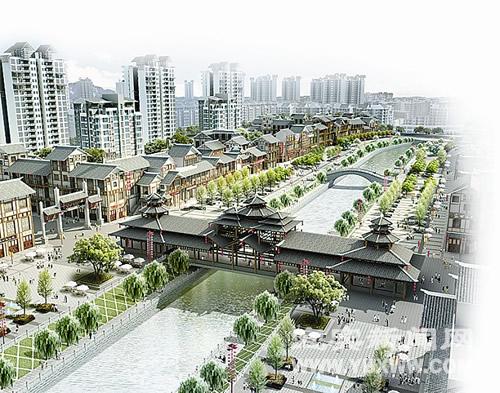 南溪的城市建设