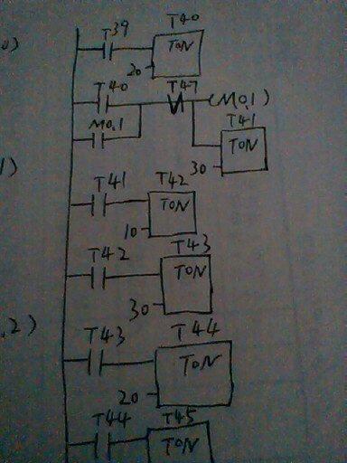 求应用西门子plc控制5只循环灯的梯形图和外部接线图?