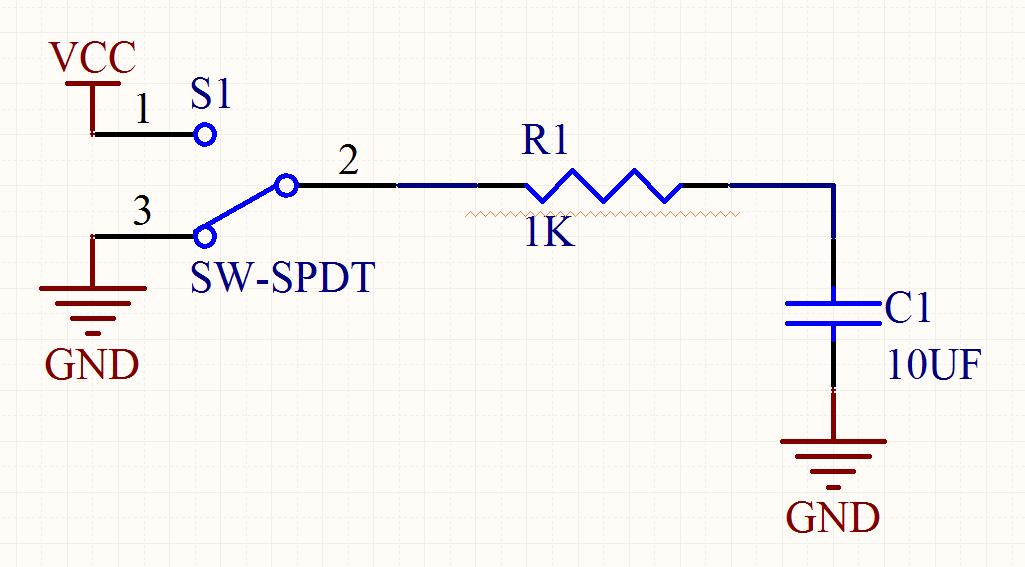 rc充放电电路原理