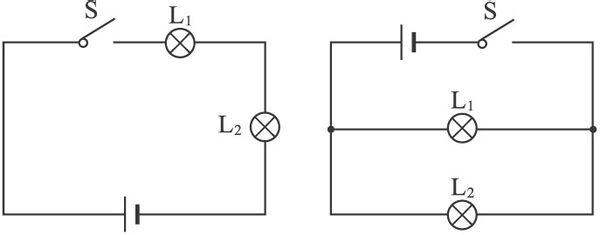 并联电路: 1.电路中各电阻上所承受的电压相同.  2.