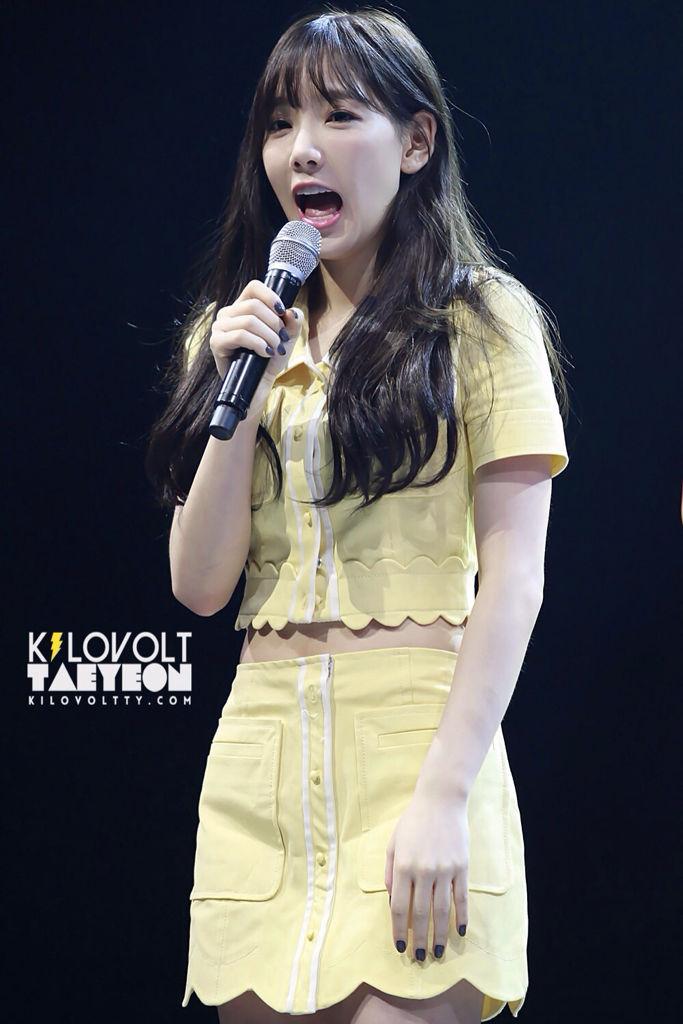 少女时代的队长金泰妍,好可爱