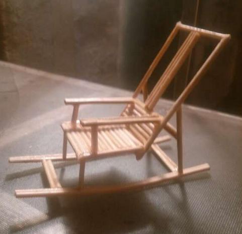 木棍手工制作椅子步骤