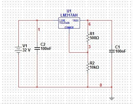 基于lm317做得稳压电源