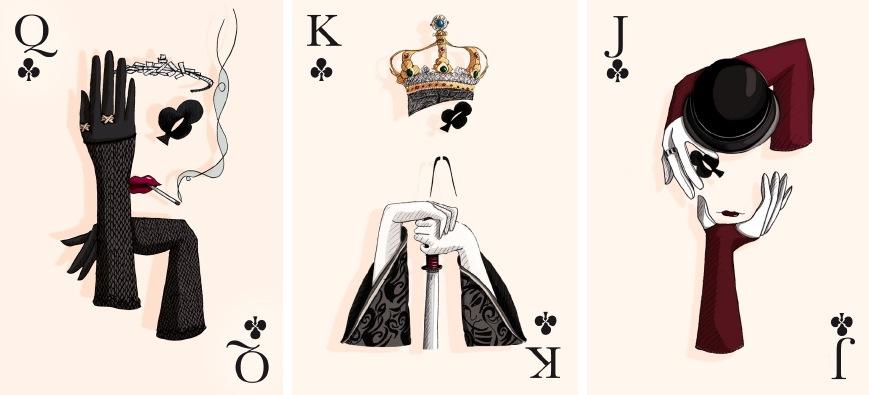 谁有这张图的大图,图上是扑克 黑桃k