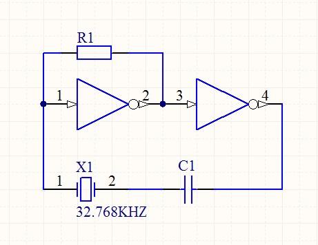 这个电路晶振是32.