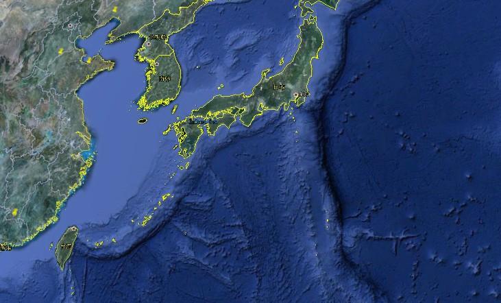 为什么卫星地图上的海洋会是这样?