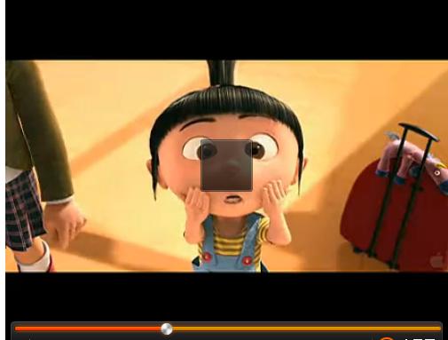 一个小女孩嘟嘴的动画片图片