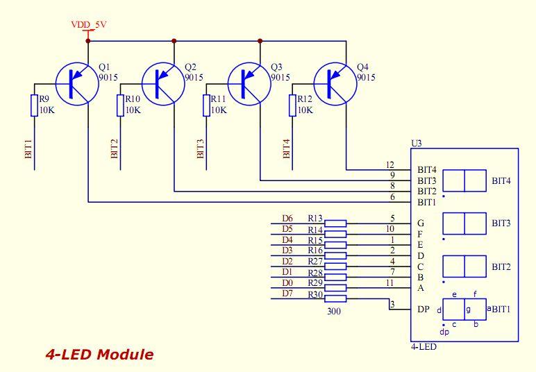 pnp三极管在数字电路中的开关功能