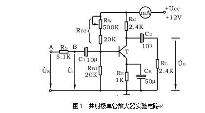 共射单级放大电路工作原理(有图)