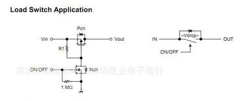 脉冲电子开关中用的2n7002是n沟道mos管,额定电流小,只有0.